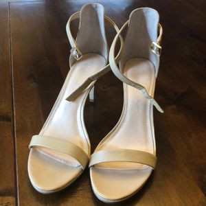 Banana Republic Minimalist Ankle Wrap Sandals